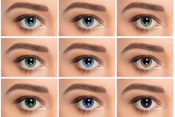 culori ochi