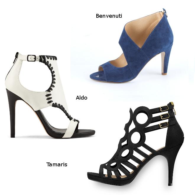 sandale de vara cu toc