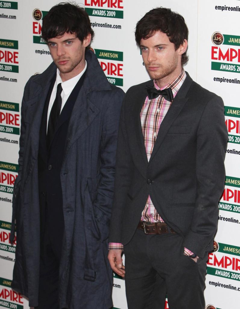 Harry si Luke Treadaway – actori, 30 ani