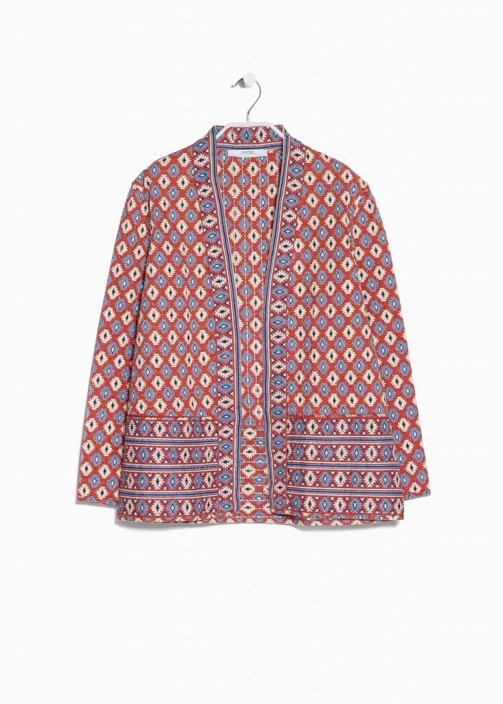 Jacheta din bumbac, Mango, 149 lei