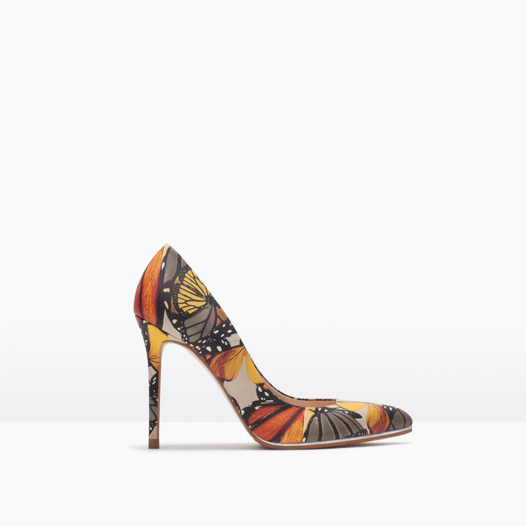 Pantofi din piele, Zara, 349,90 lei