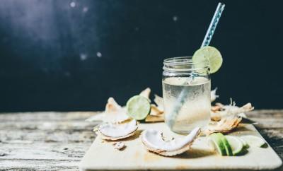 coctail pentru piele apa de cocos