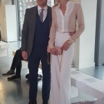 Ronan Keating and wife @ LFW SS2106