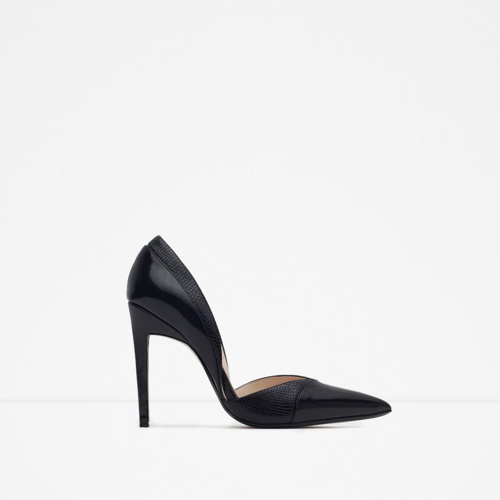 pantofi cu toc, Zara