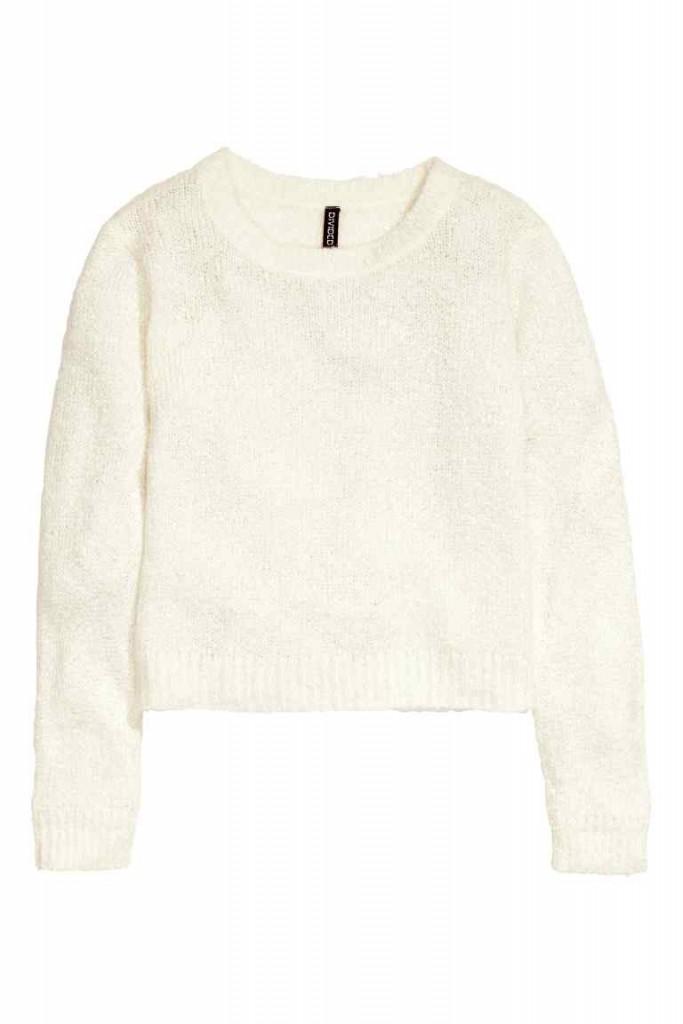 pulovar tricotat, H&M