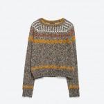 pulovar tricotat, Zara