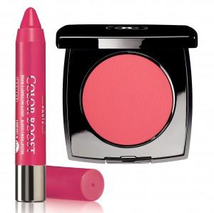 Bourjois Color tonic Crayon lipstick, 42 lei;  Chanel Le Blush Creme de Chanel, Affinite, 183,08 lei