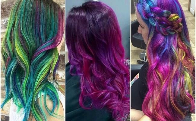 Galaxy Hair Cel Mai Nou Si Spectaculos Trend