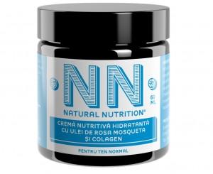 NN Natural Nutrition Cremă nutritivă cu Rosa Mosqueta și Colagen, 118 lei