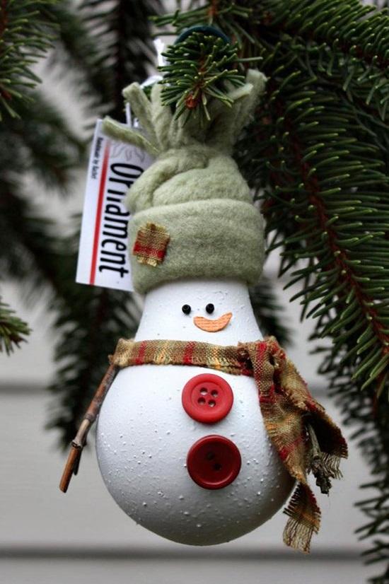 ornamente de brad homemade bec