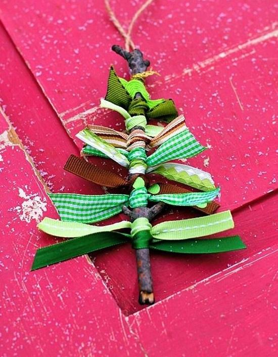 ornamente de brad homemade
