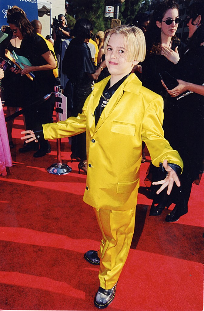 aaron-carter-41-grammy-awards-1999-getty-images