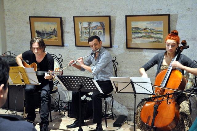 Calin Grigoriu Trio. Credits Calin Grigoriu Trio