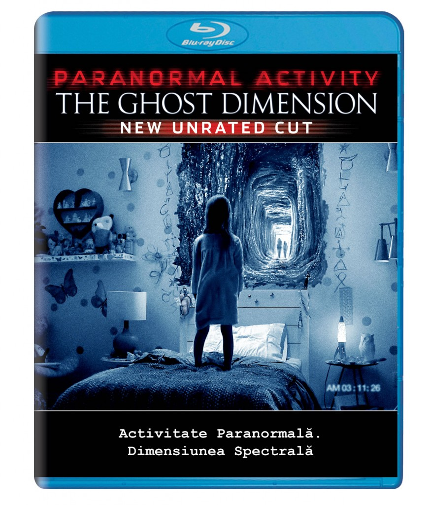 Paranormal Blu Ray
