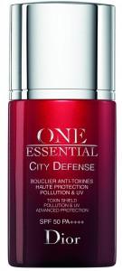 Dior One Essential City Defense Toxin Shield, 258 lei, protejează tenul împotriva poluării