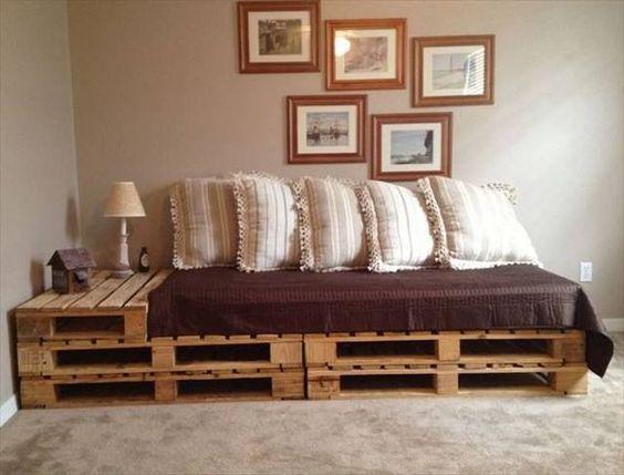 mobila din paleti diy canapea