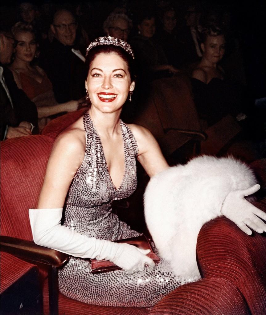 Ava Gardner la Premiile Oscar 1960
