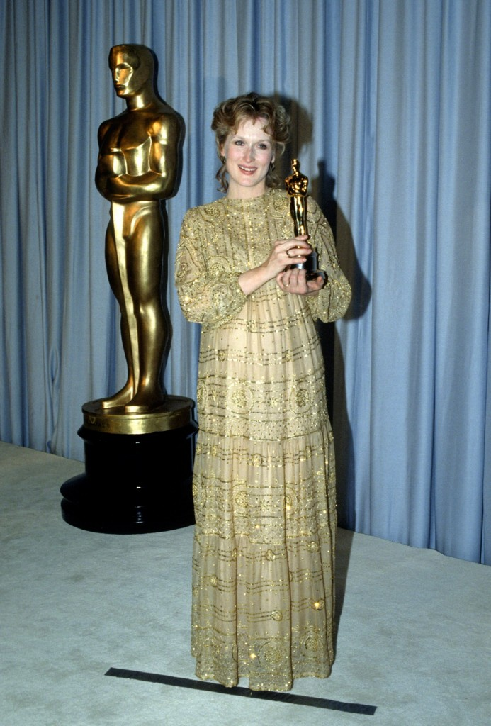 Meryl Streep la Premiile Oscar 1983