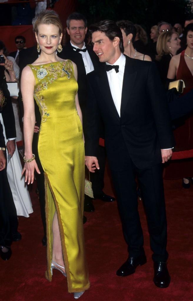 Nicole Kidman și Tom Cruise la Premiile Oscar 1997