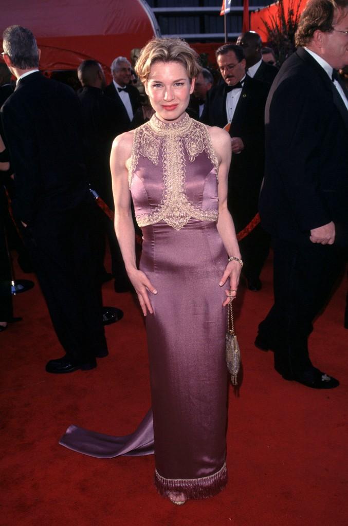 Renne Zellweger la Premiile Oscar 1999