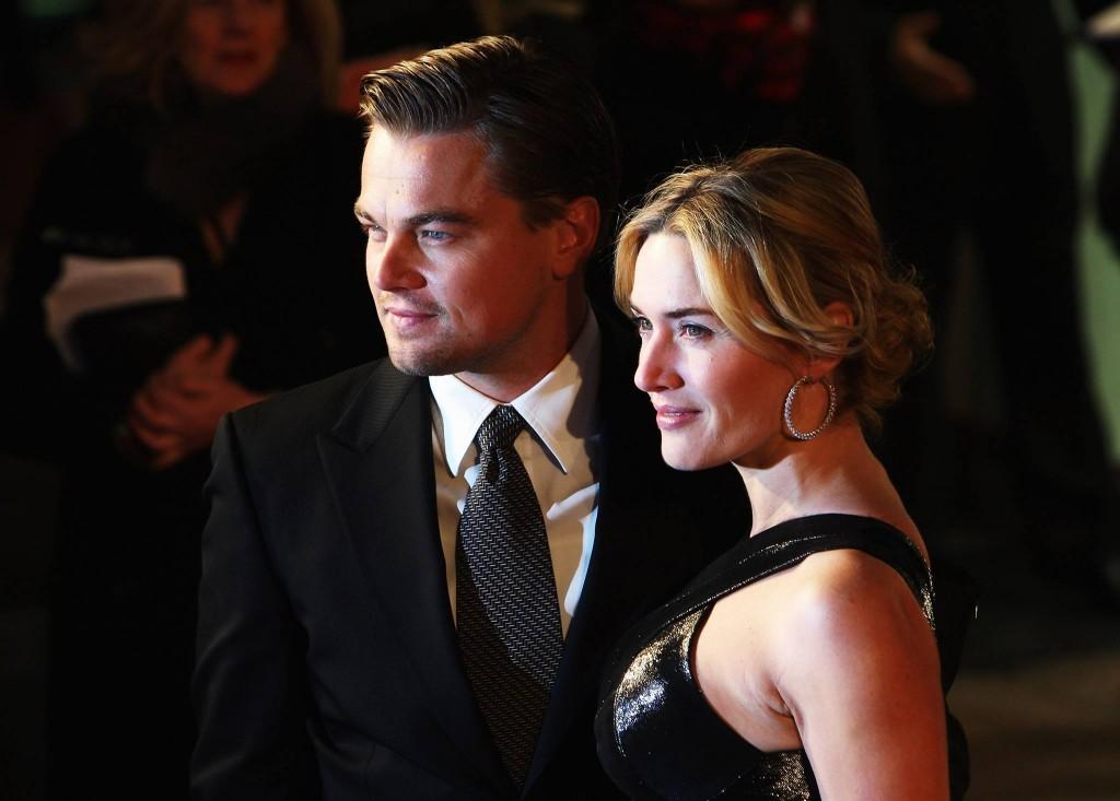Leonardo DiCaprio și Kate Winslet la premiera Revolutionary Road (2008)