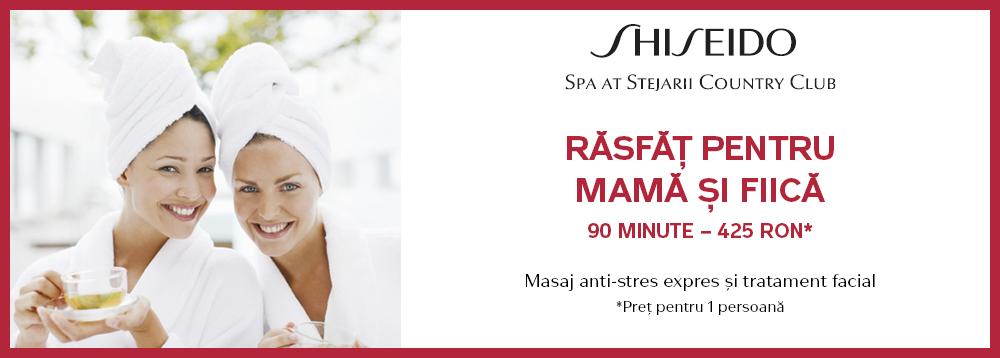 Rasfat pentru mama si fiica Shiseido Spa
