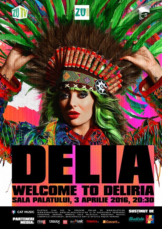Welcome to Deliria 3 aprilie