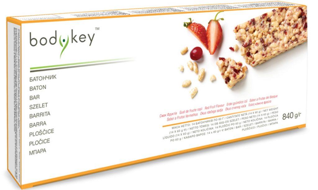 3 bodykey bar red fruits 222 lei