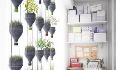 Reciclează creativ! Idei de decorațiuni interioare DIY