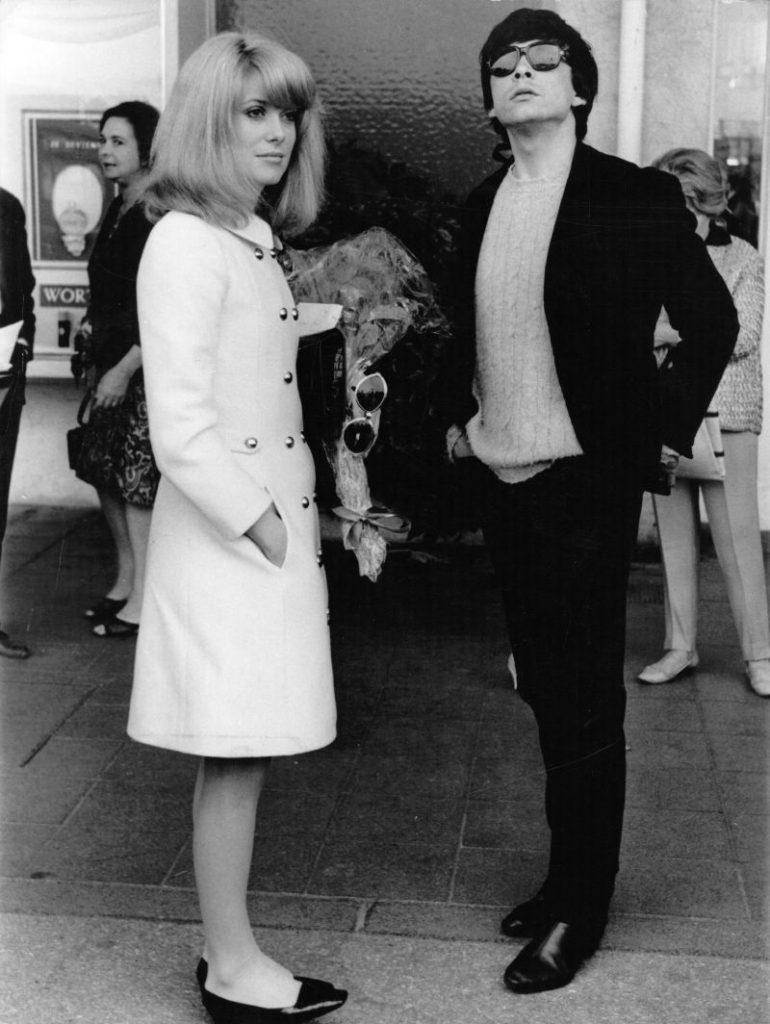 Catherine Deneuve și David Bailey