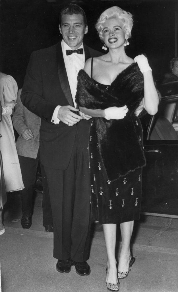 Jayne Mansfield și Mickey Hargitay