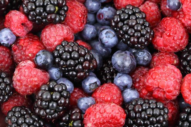 fructe cu continut mic de zahar