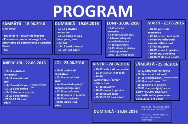 program Arta Sportului