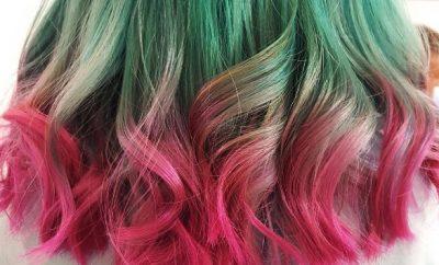 pepene rosu instagram watermelon hair