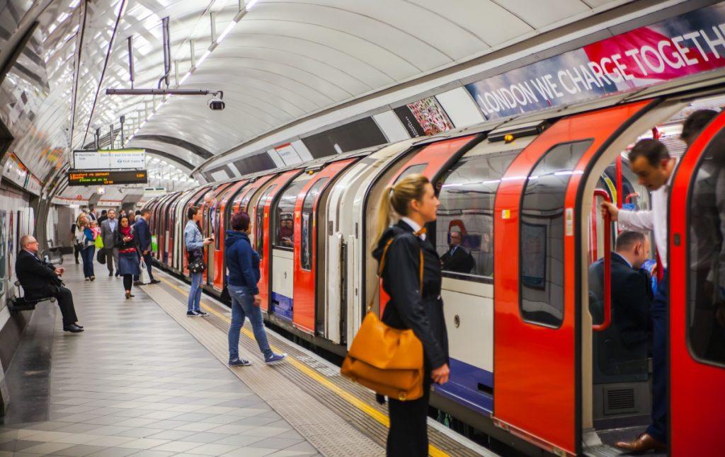 metroul in Londra