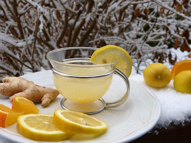 ceai de ghimbir si lamaie