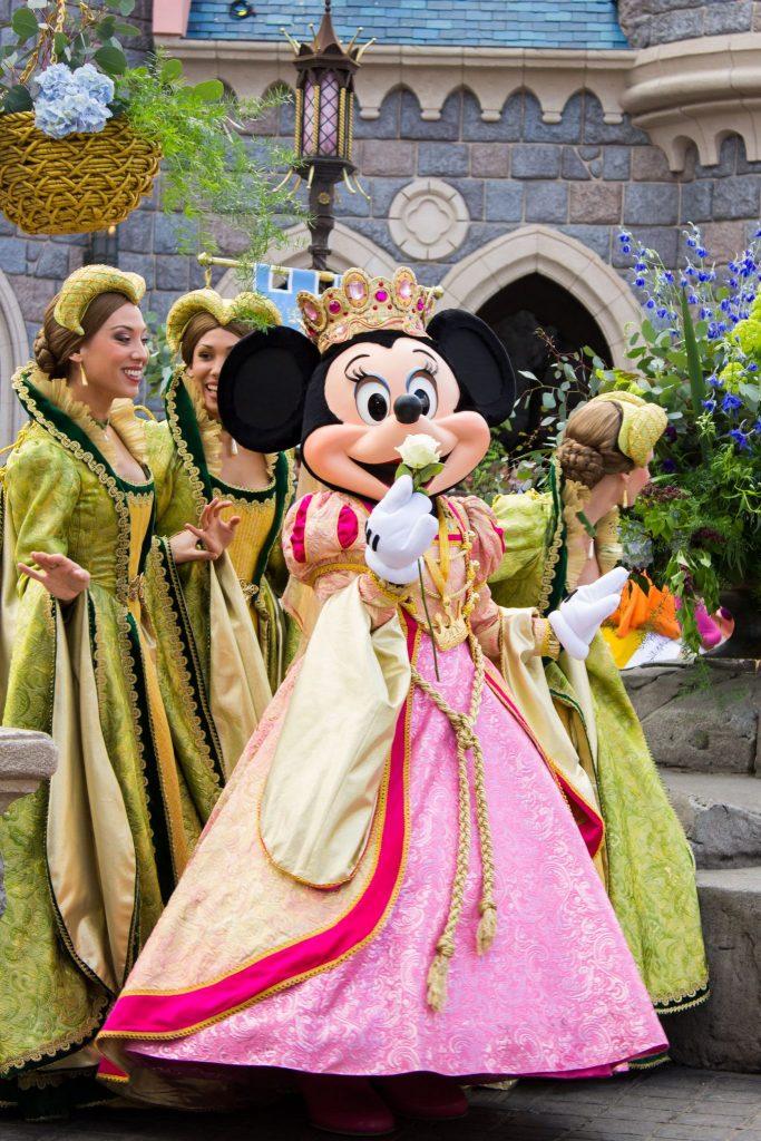 Disneyland parada Mickymouse