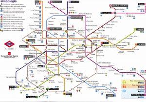 harta metrou madrid