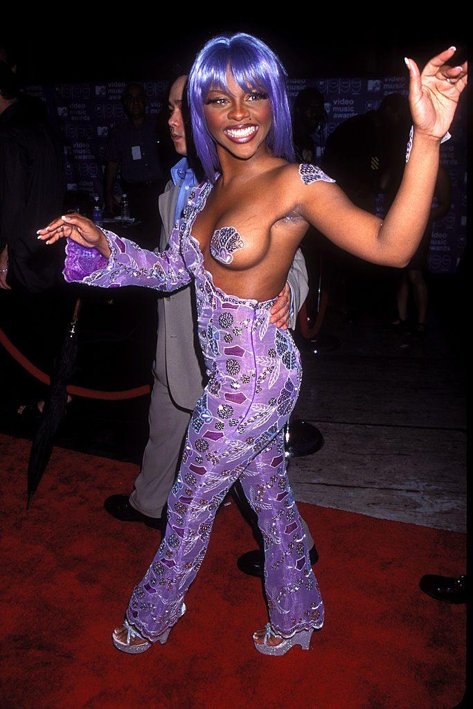 Lil' Kim la MTV Video Music Awards 1999
