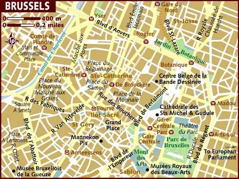 Harta Bruxelles Cosmopolitan Ro