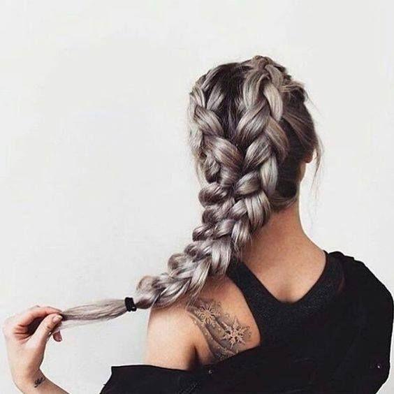 Idei de coafuri pentru sezonul cald: împletiturile Uberhaxornova Tumblr Long Hair