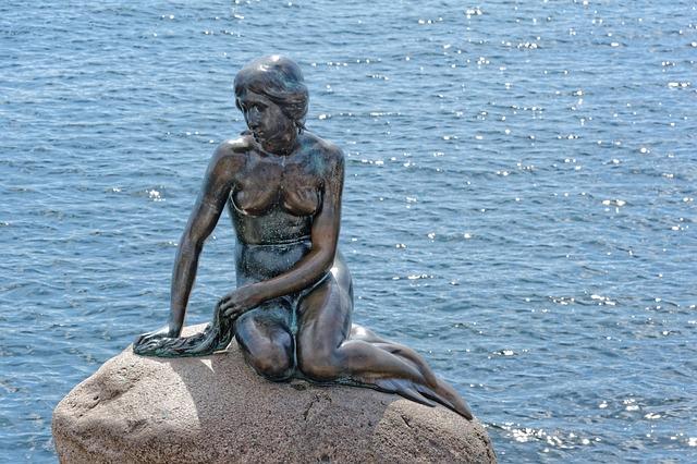 Statuia Mica Sirena Copenhaga