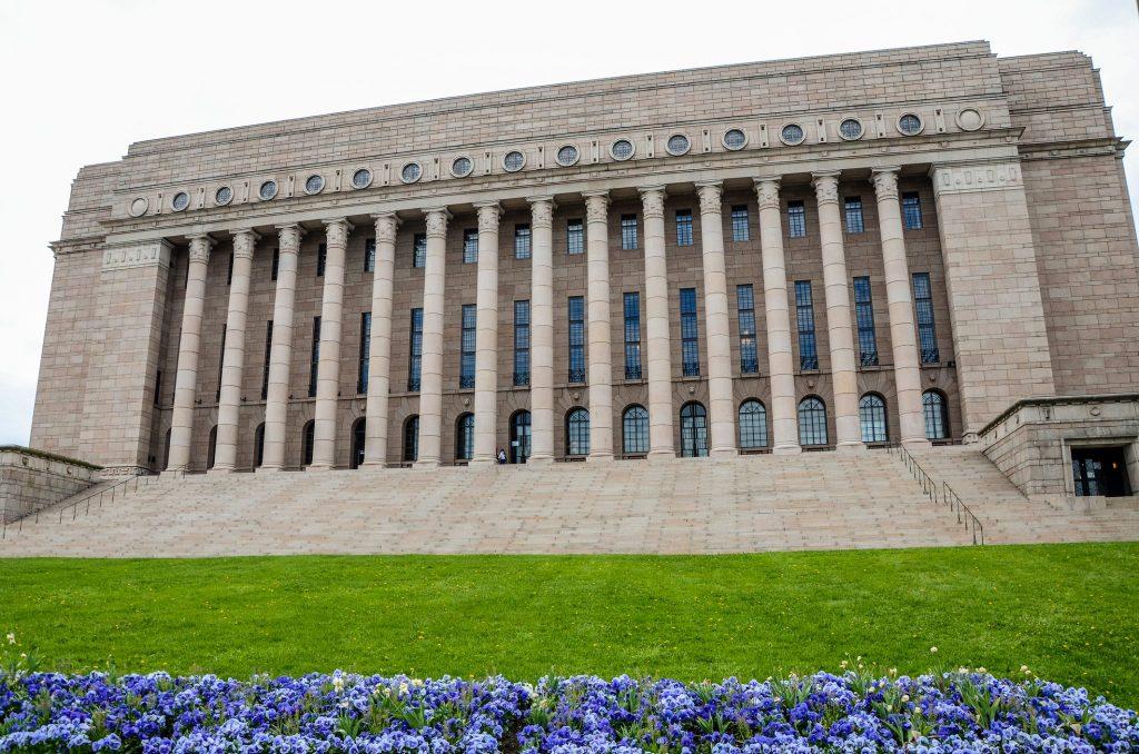 Cladirea Parlamentului helsinki obiective turistice