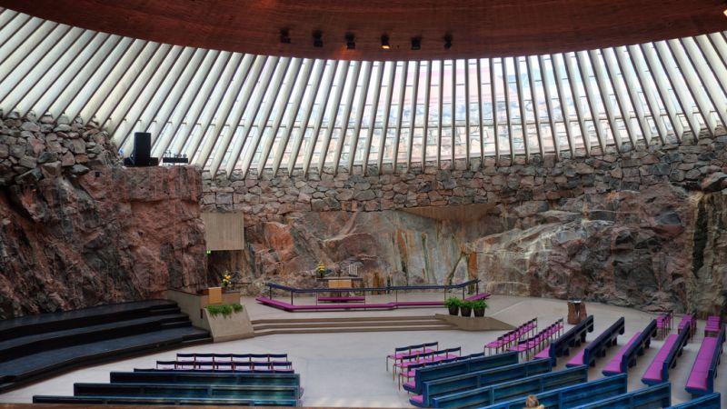 biserica din stanca helsinki obiective turistice