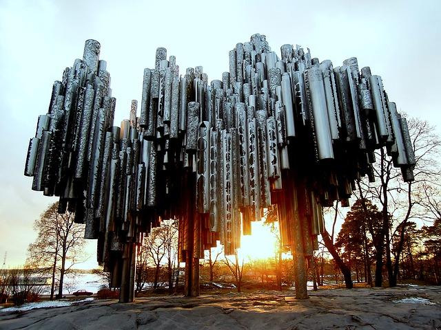 monumentul Sibelius helsinki obiective turistice