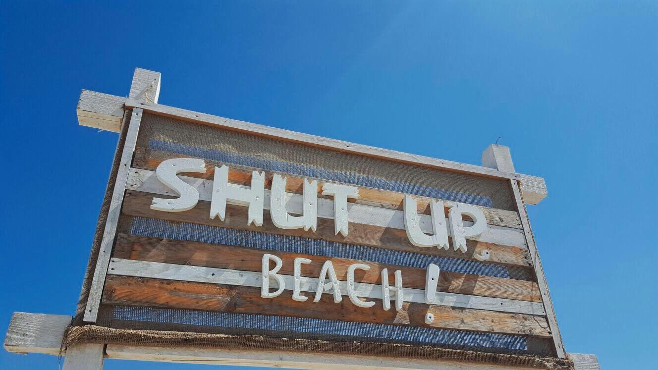 Shut up, Beach!