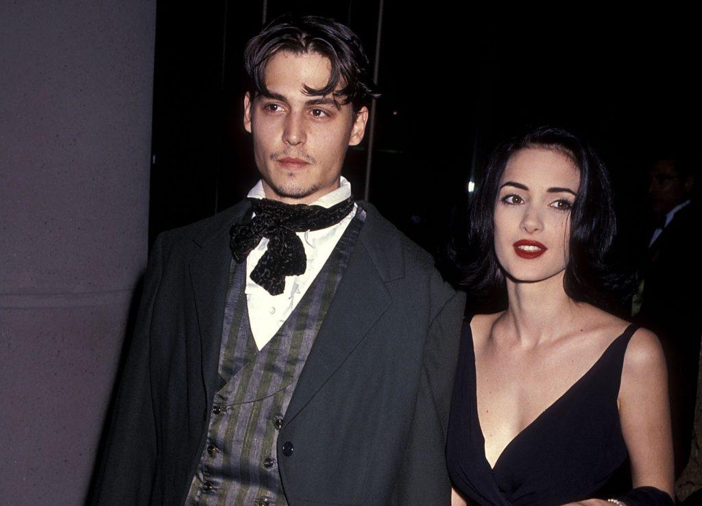 Johnny Depp și Winona Ryder