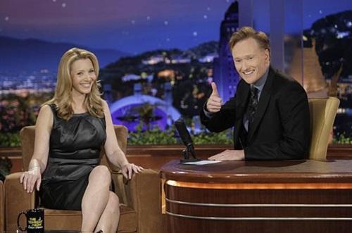 Lisa Kudrow , Conan O'Brien