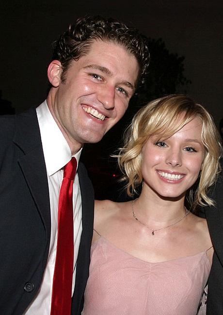 Matthew Morrison și Kristen Bell