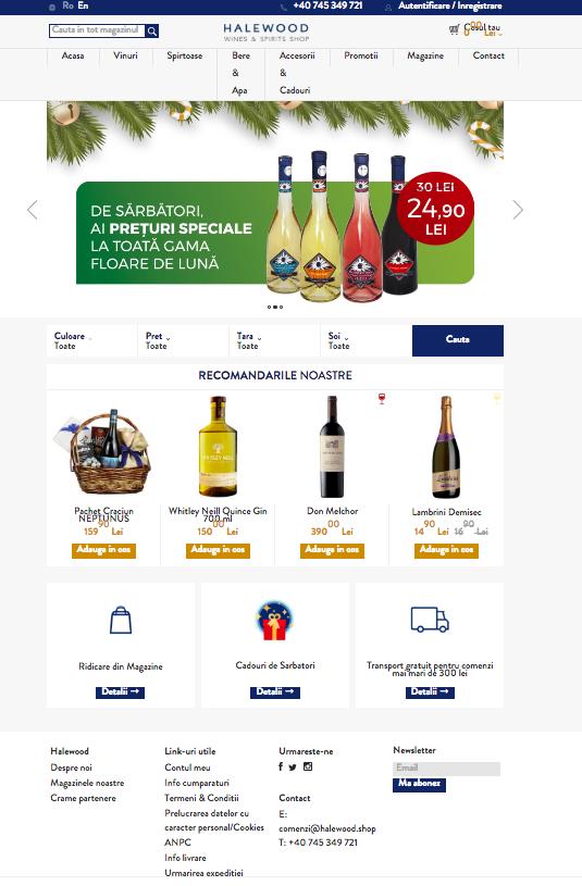 Halewood Online Shop (1)